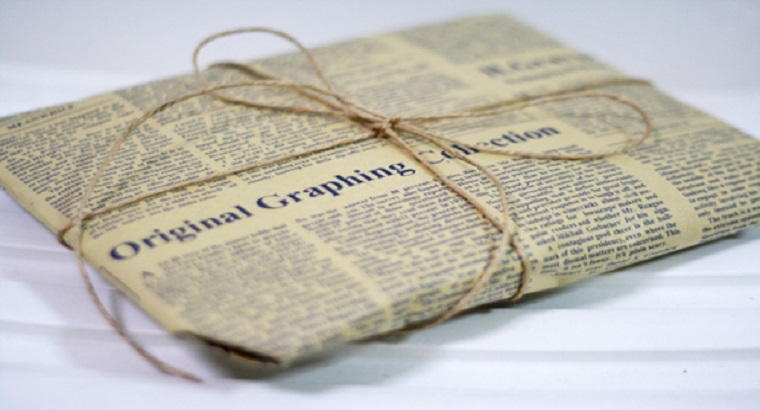 Newspaper Wrappings