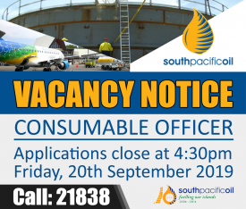 CONSUMABLE OFFICER (SPOL)