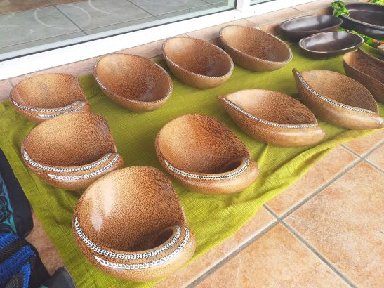 Coconut Wooden Bowls for Sale