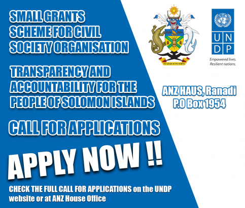 SMALL GRANTS SCHEME Call for Applications