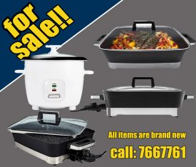 Electrical cooking appliances