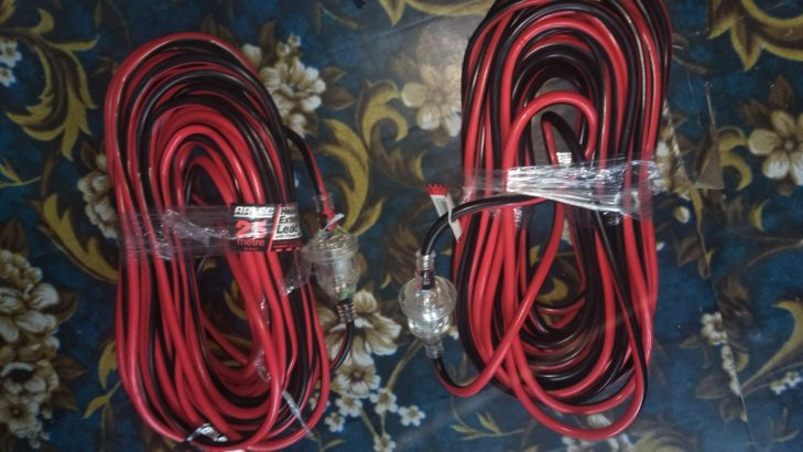 Heavy duty extension cable