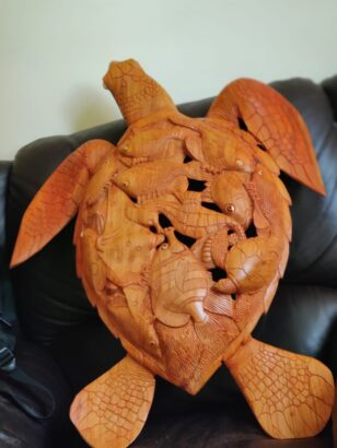 TURTLE CARVING